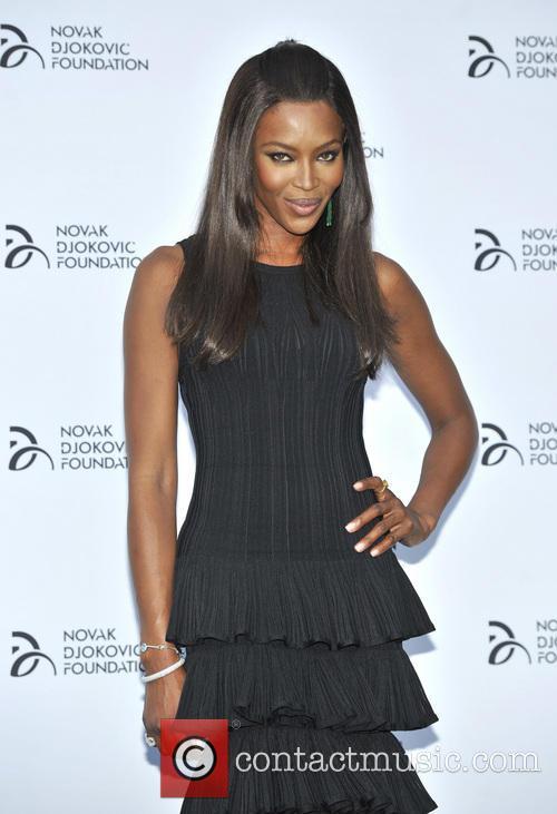 Naomi Campbell Novak Djokovic Foundation Event