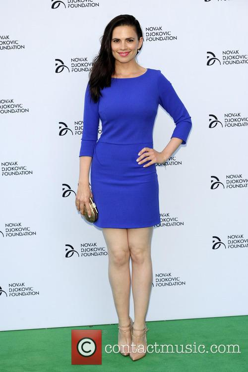 hayley attwell novak djokovic foundation event 3751691