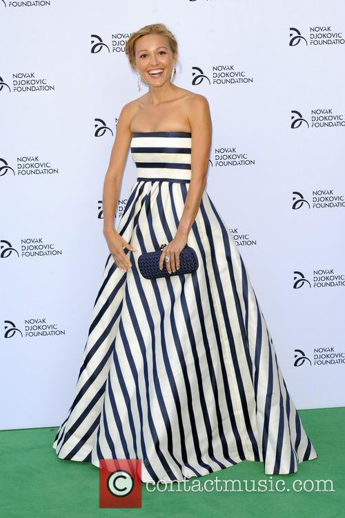 jelena ristic novak djokovic foundation event 3751726