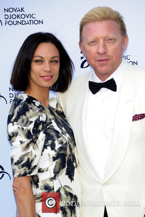 Lily Becker and Boris Becker 1