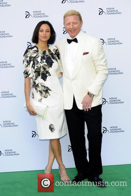 lily becker boris becker novak djokovic foundation event 3751707