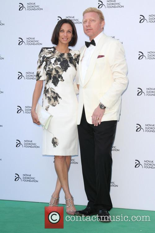 Lily Becker and Boris Becker 2