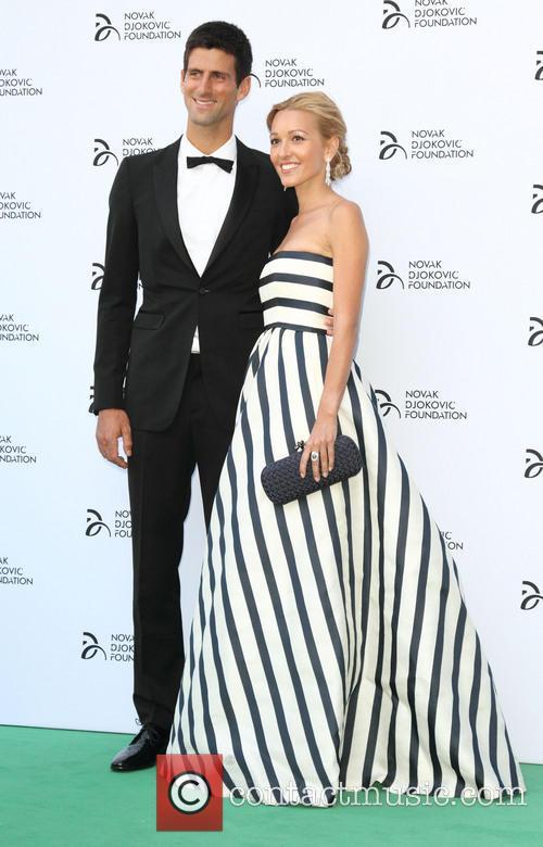 Novak Djokovic and Jelena Ristic 2