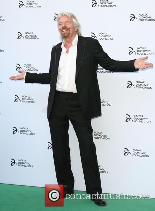 Richard Branson, Novak Djokovic Foundation Gala Dinner