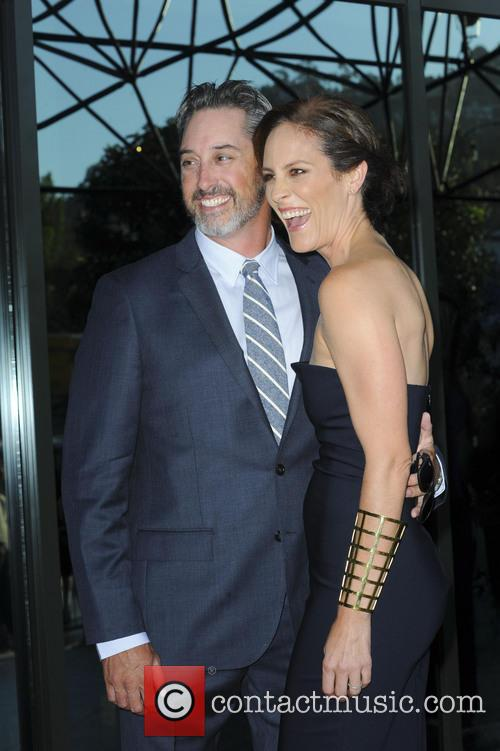 Annabeth Gish and Wade Allen