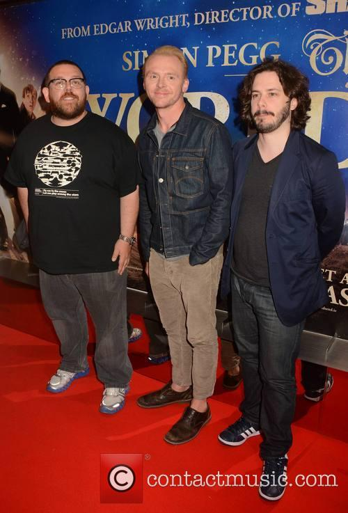 Nick Frost Simon Pegg Edgar Wright