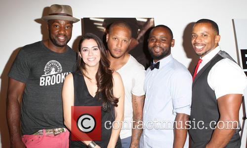 Malik Yoba, Haroula Rose, Guest, Gerard Mcmurray and Ephraim Walker 9