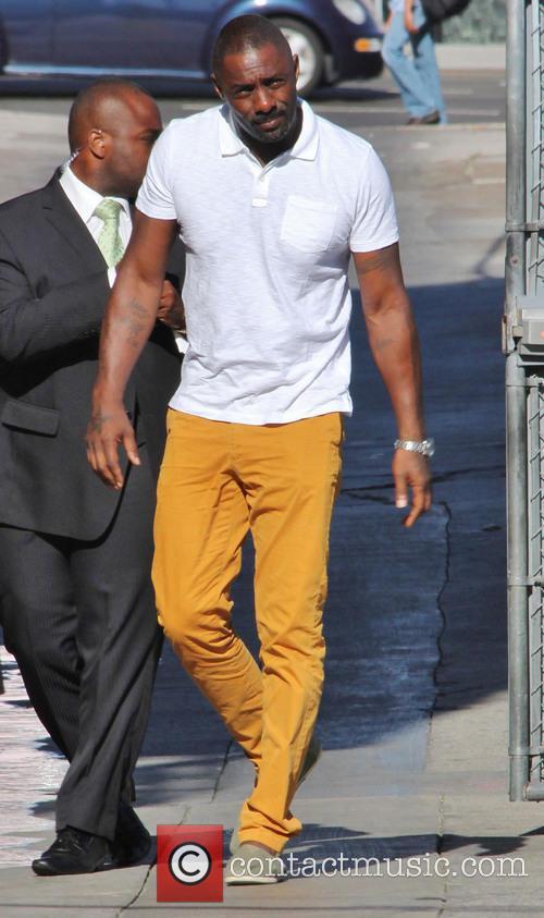 Idris Elba, Jimmy Kimmel