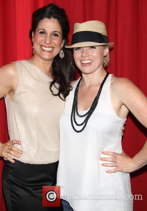 Stephanie J. Block and Megan Hilty 3