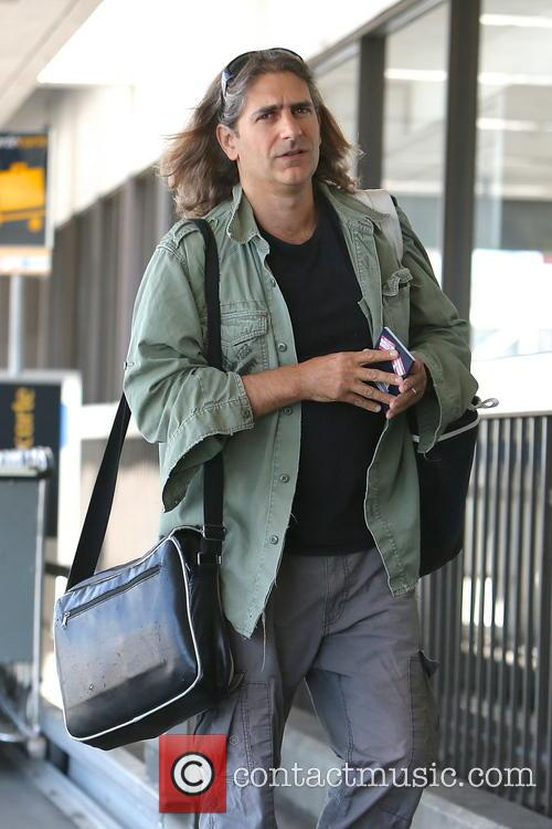 'Sopranos' star Michael Imperioli seen at LAX airport