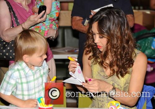 Myleene Klass signs copies of her book 'Things...