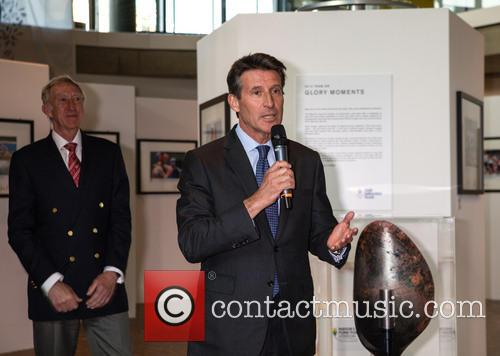 David Hemery and Lord Sebastian Coe
