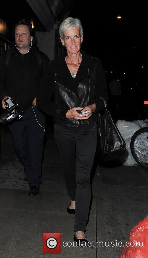 judy murray andy murray leaves nobu berkeley 3749599