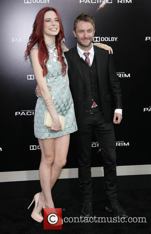 Chris Hardwick and Chloe Dykstra 8