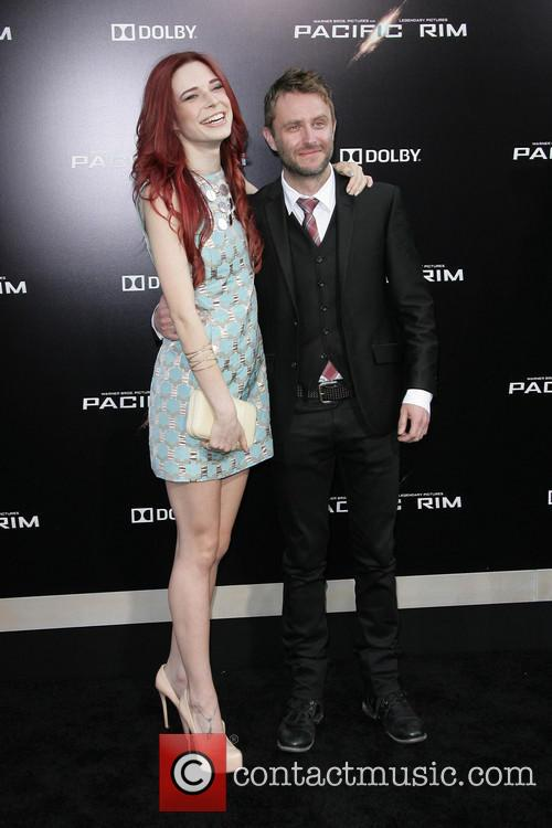 Chris Hardwick and Chloe Dykstra 10