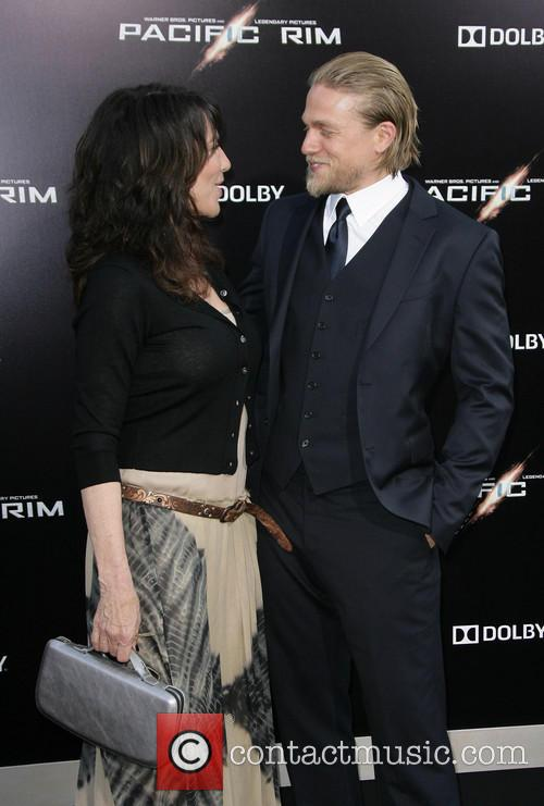 Charlie Hunnam and Katey Segal 6