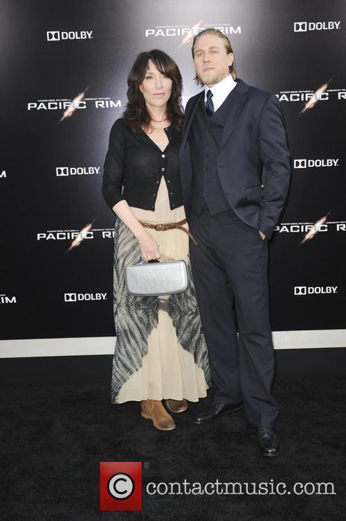 Katey Sagal and Charlie Hunnam 2