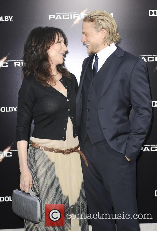 Katey Sagal and Charlie Hunnam 4