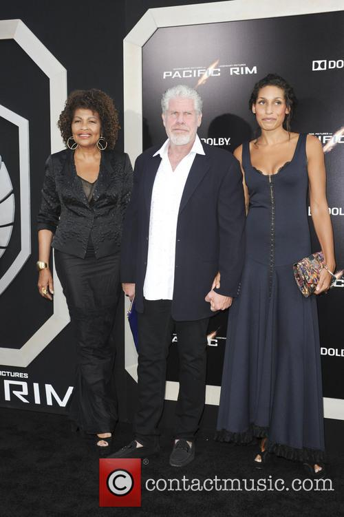 Ron Perlman and Family 2
