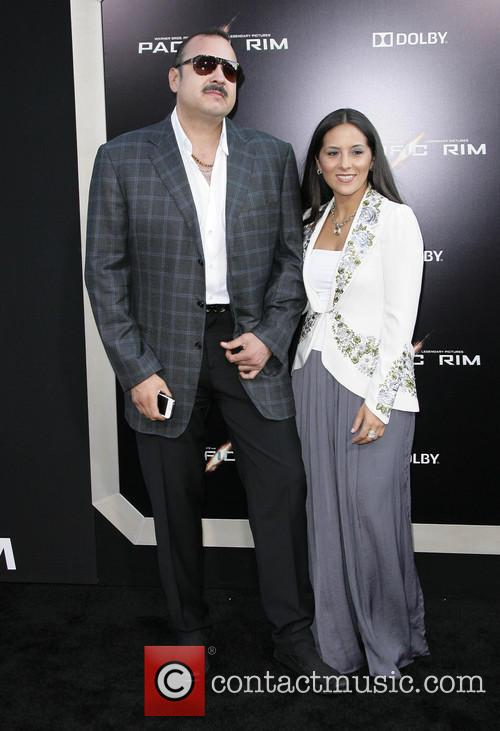Pepe Aguilar and Aneliz Aguilar 7
