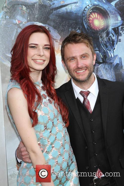 Chris Hardwick and Chloe Dykstra 4