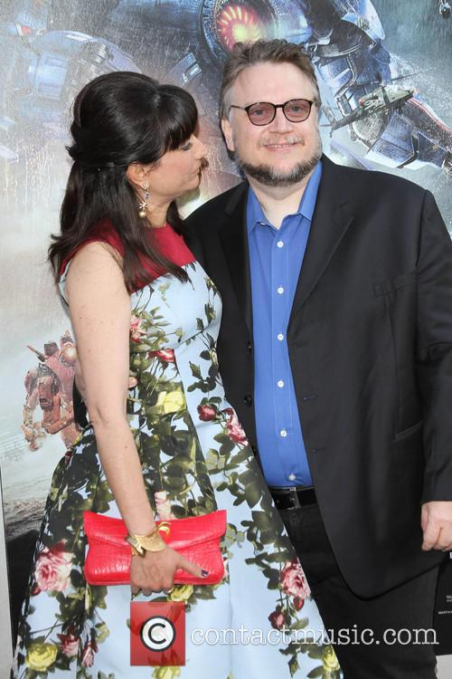 Guillermo del Toro and Lorenza Newton 7