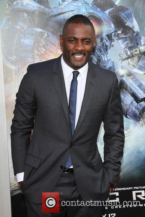 Idris Elba, Pacific Rim Premiere