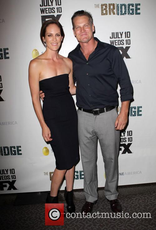 Annabeth Gish and Brian Van Holt 8