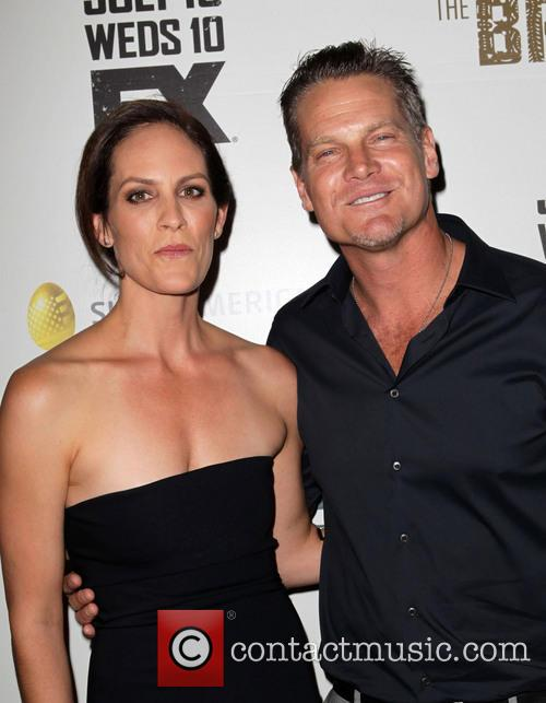 Annabeth Gish and Brian Van Holt