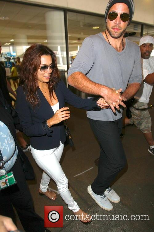 Eva Longoria and Ernesto Arguello 1