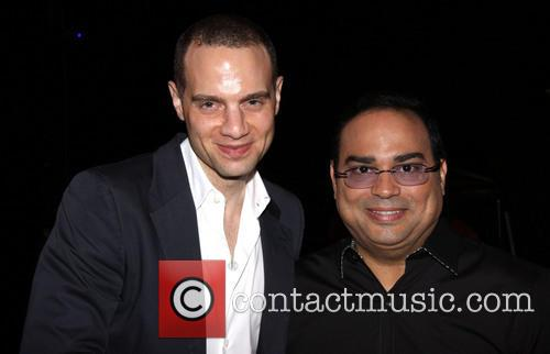Jordan Roth and Gilberto Santa Rosa 1