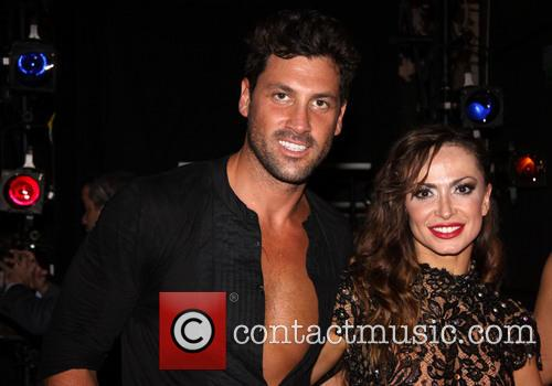 Karina Smirnoff, Maksim Chmerkovskiy and Dancing With The Stars 2