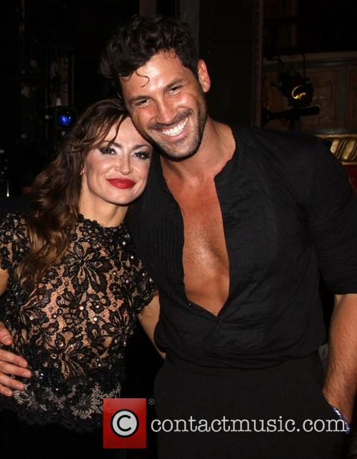 Karina Smirnoff, Maksim Chmerkovskiy and Dancing With The Stars 7
