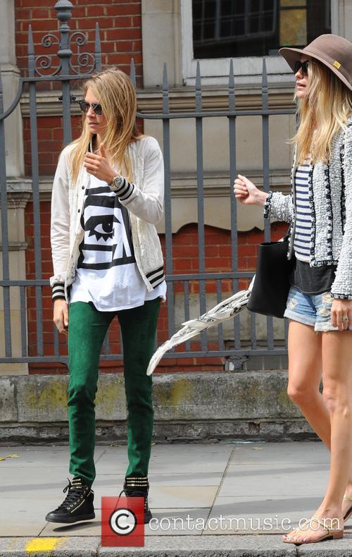Cara Delevingne and Poppy Delevingne 11
