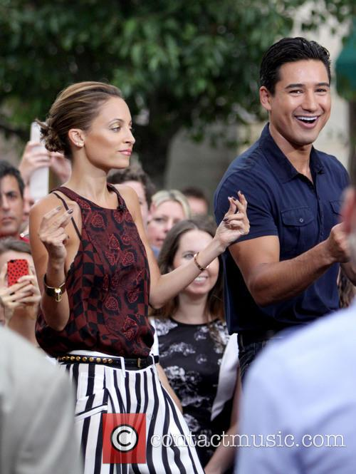 Nicole Richie and Mario Lopez 3