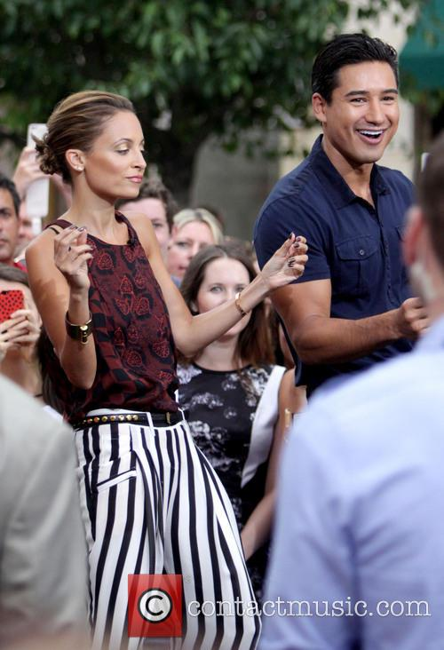 Nicole Richie and Mario Lopez 5