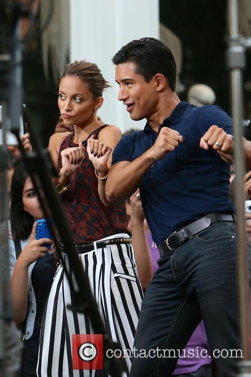 Nicole Richie and Mario Lopez 10
