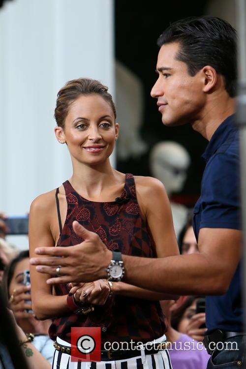Nicole Richie and Mario Lopez 11