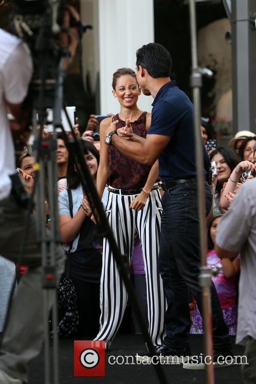 Nicole Richie and Mario Lopez 13