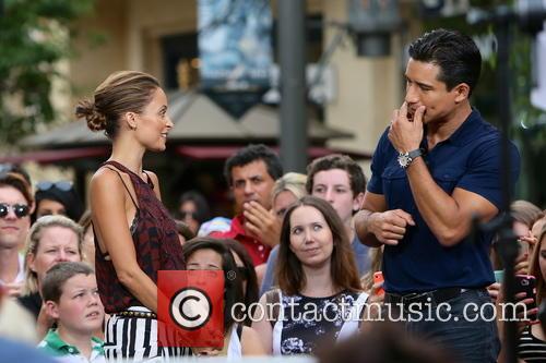 Nicole Richie, Mario Lopez, The Grove