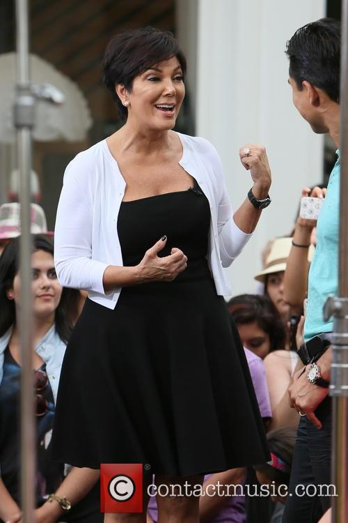 Kris Jenner and Mario Lopez 2