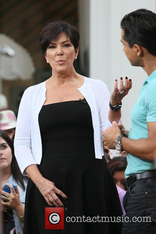 Kris Jenner and Mario Lopez 3