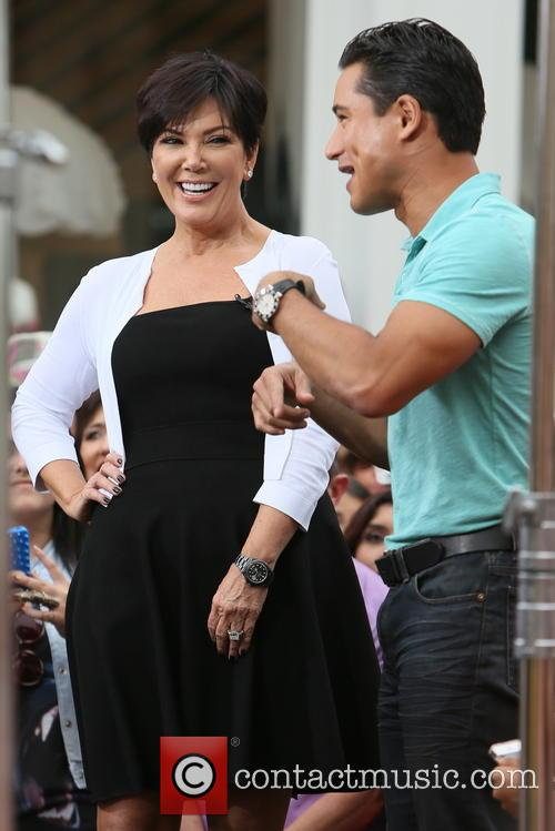 Kris Jenner and Mario Lopez 5
