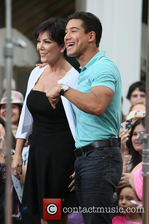 Kris Jenner and Mario Lopez 6