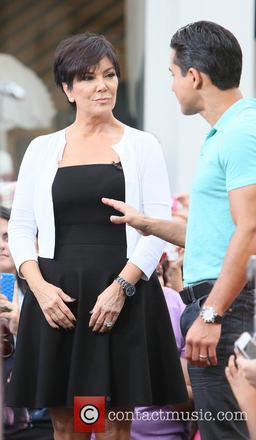Kris Jenner and Mario Lopez 8