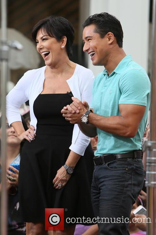 Kris Jenner and Mario Lopez 9