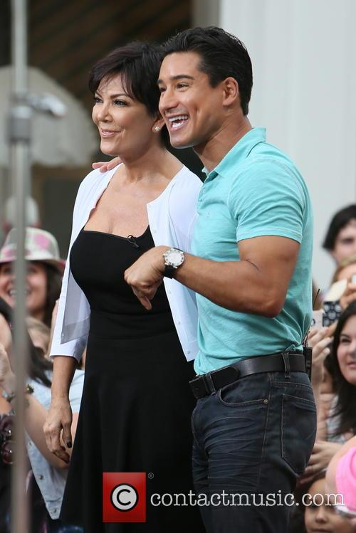 Kris Jenner and Mario Lopez 13