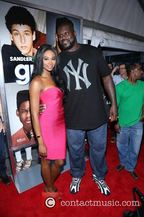 Shaquille O'neal and Nana Meriwether 7