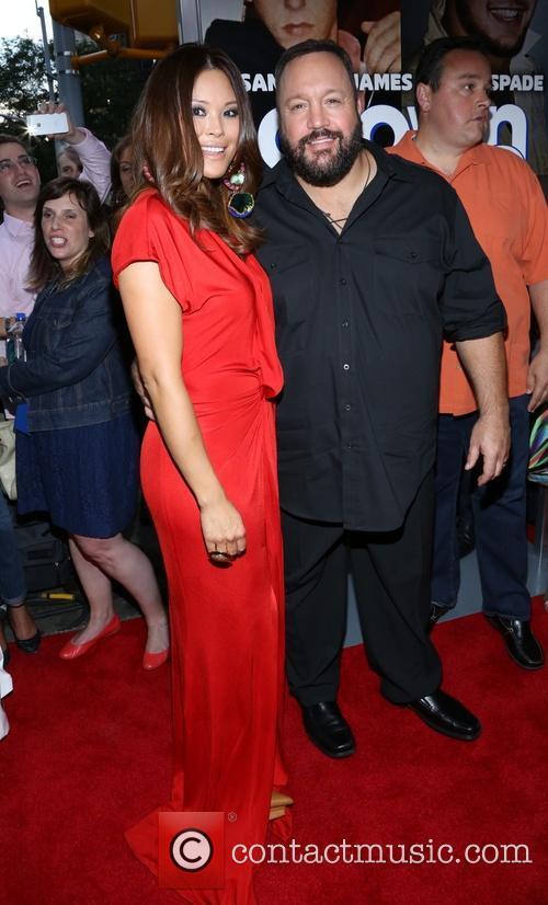 Steffiana De La Cruz and Kevin James 1