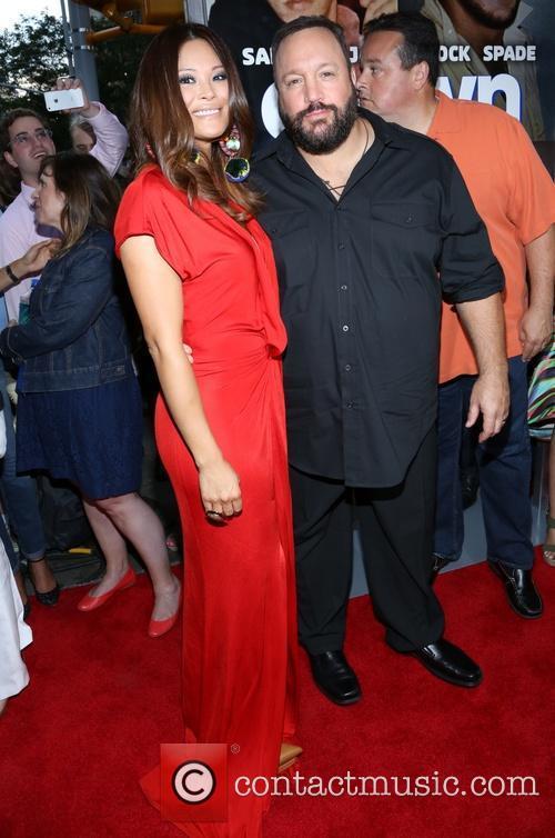 Steffiana De La Cruz and Kevin James 2